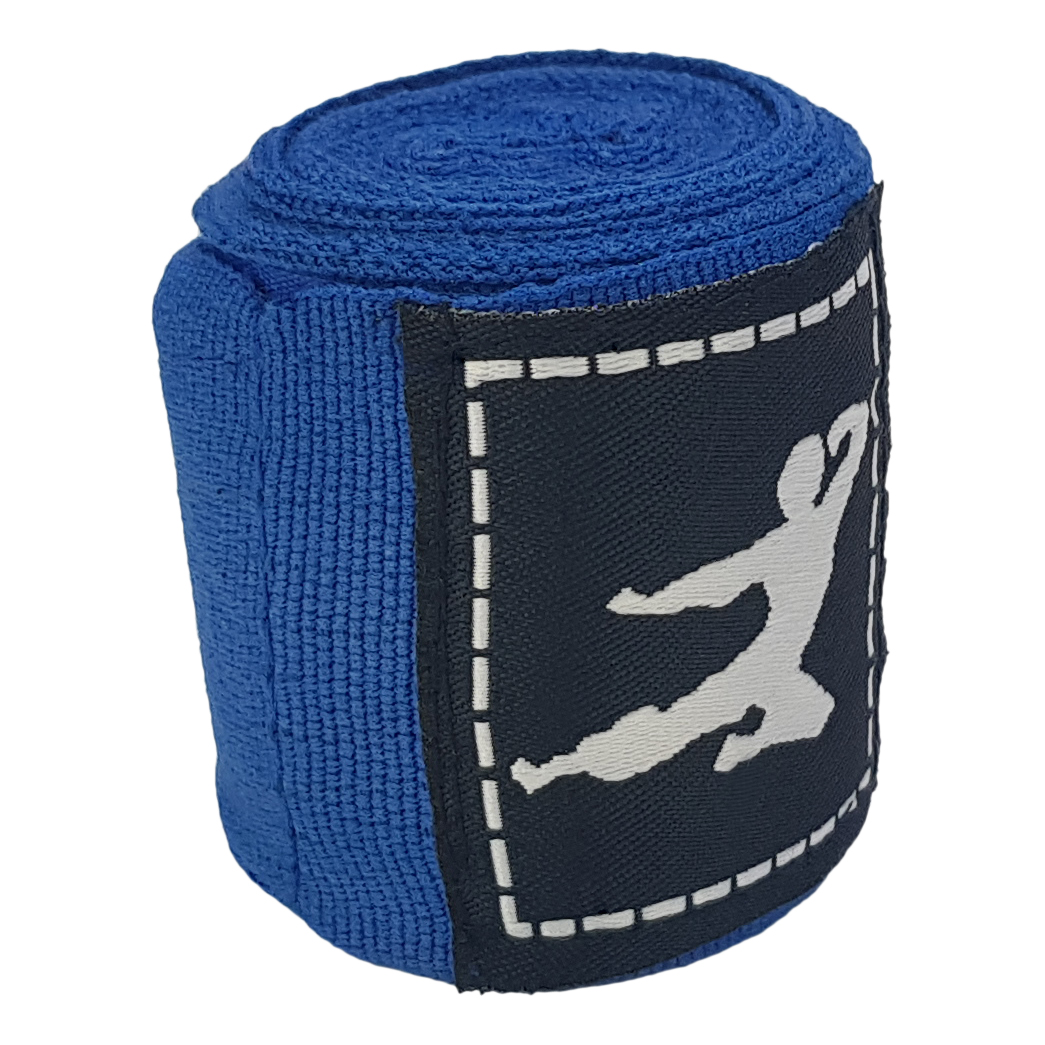 Boks Bandage - Paar - 250 cm (Meerdere kleuren) - Blauw