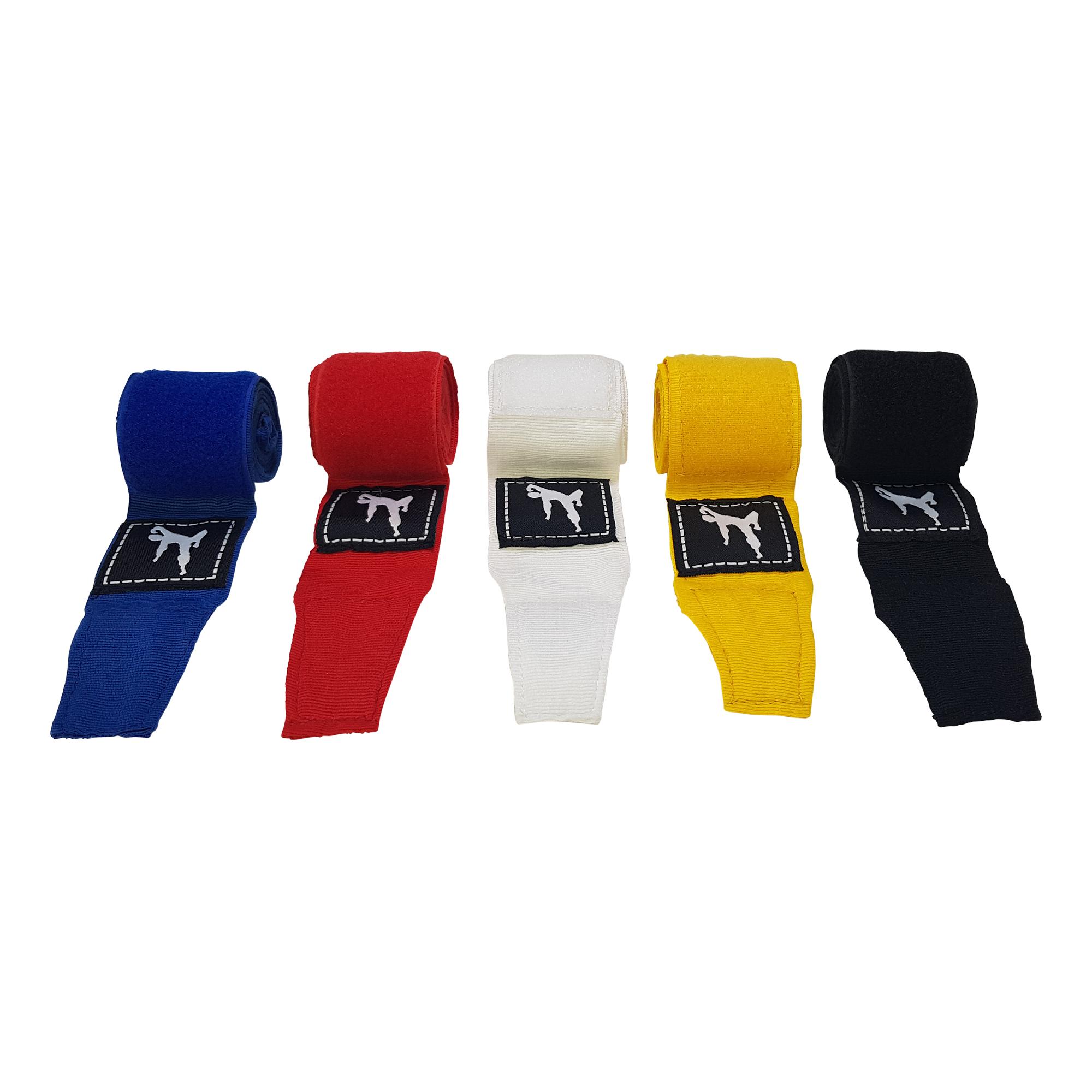 Boxing Wraps 250 cm, Pair (Multiple colors) - Blue