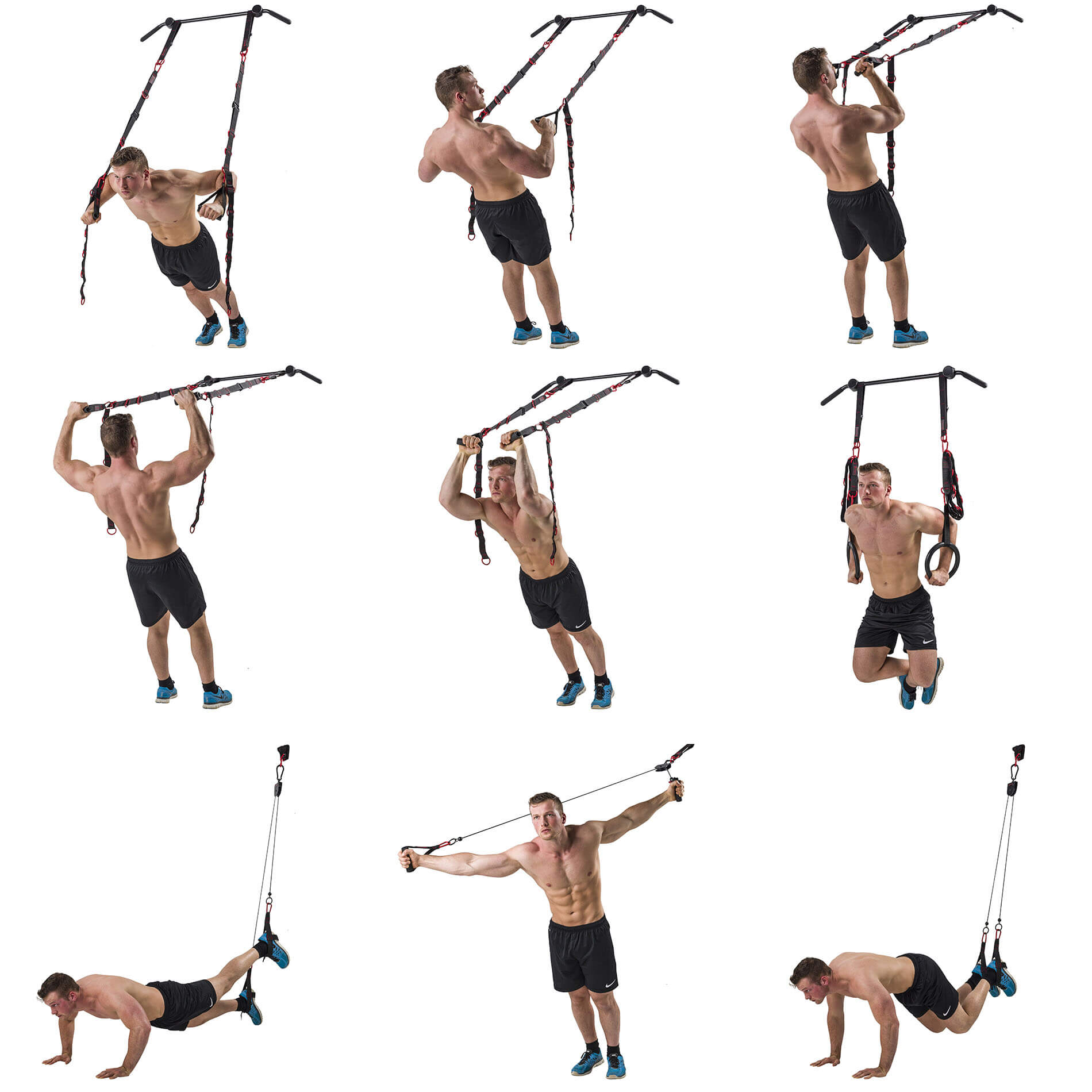 Cross Fit Trainer - Cross Fit gear - Cross Fit set - Cross Fit Suspension