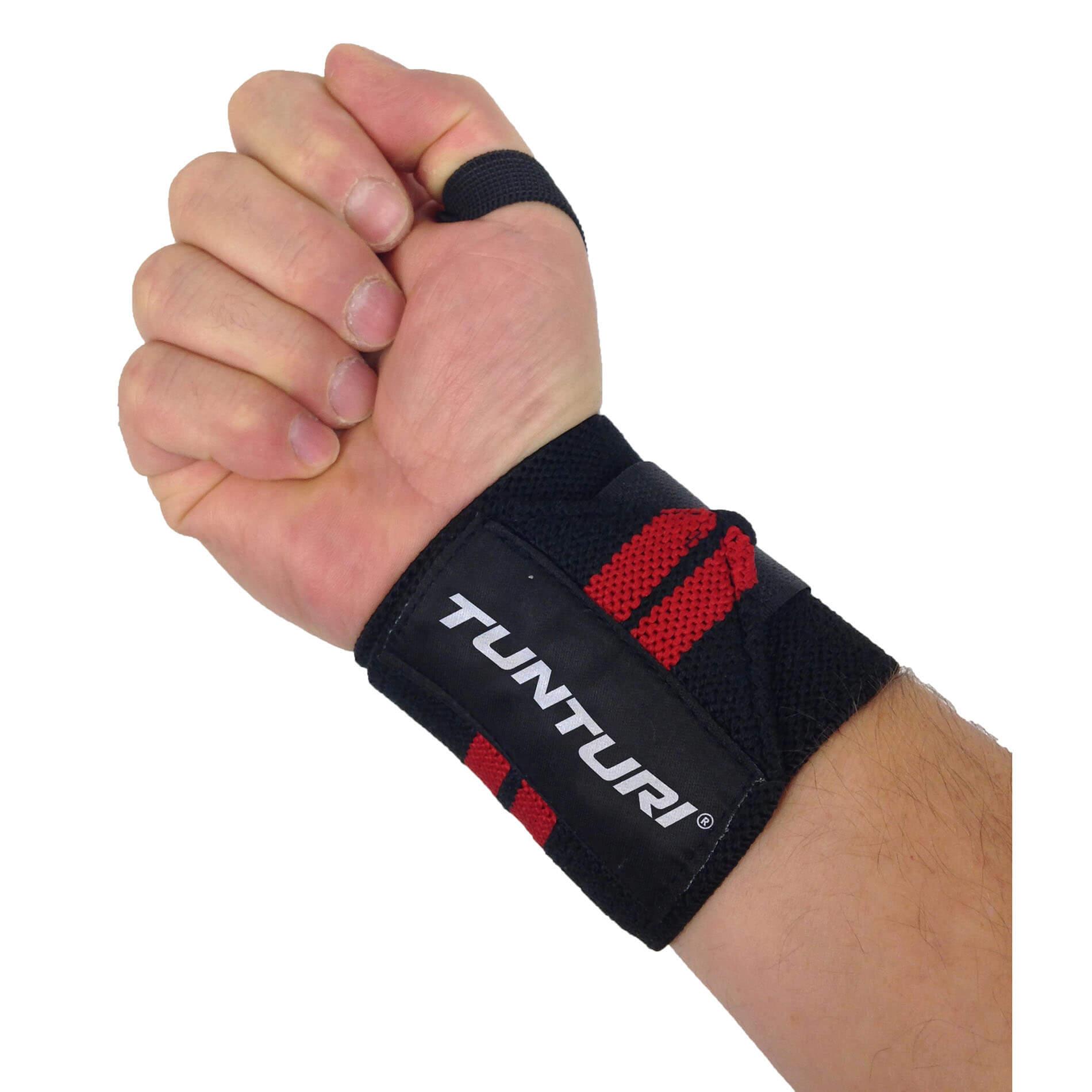 Crossfit  Wrist Wraps - Pols Wraps - Rood - per paar