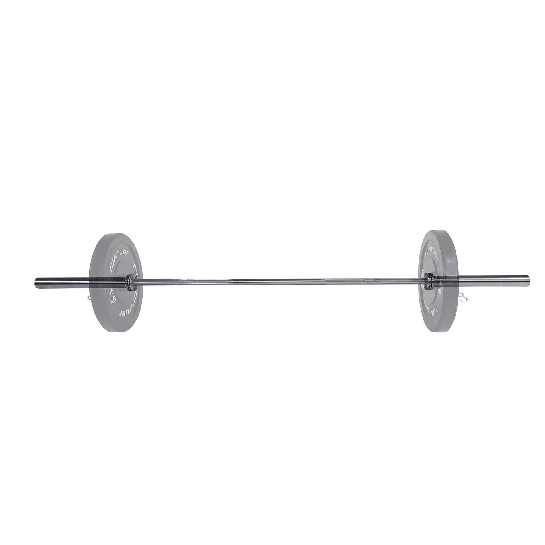 Olympische Halterstang 220cm - 20kg - 28mm diameter