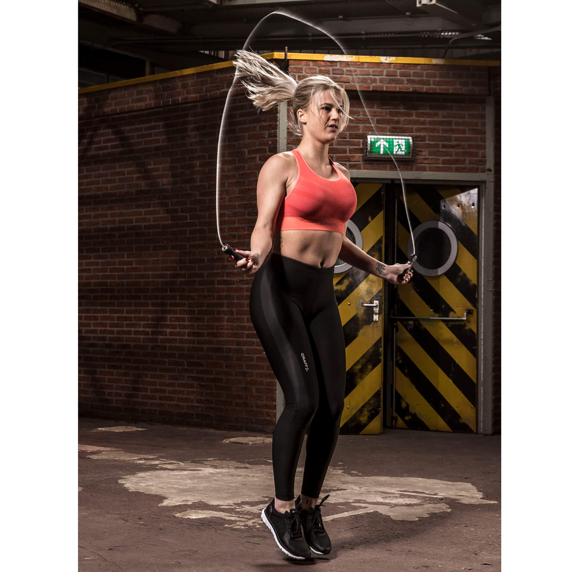 Steel Weighted Pro Jumprope With Sweatband