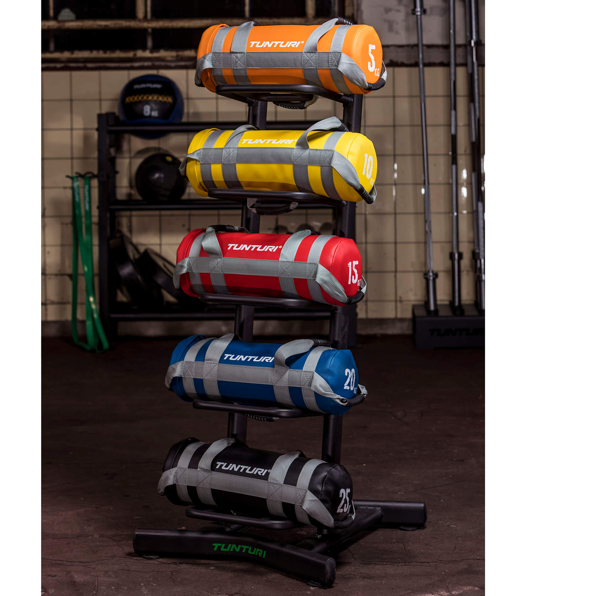 Strength Bag Rack