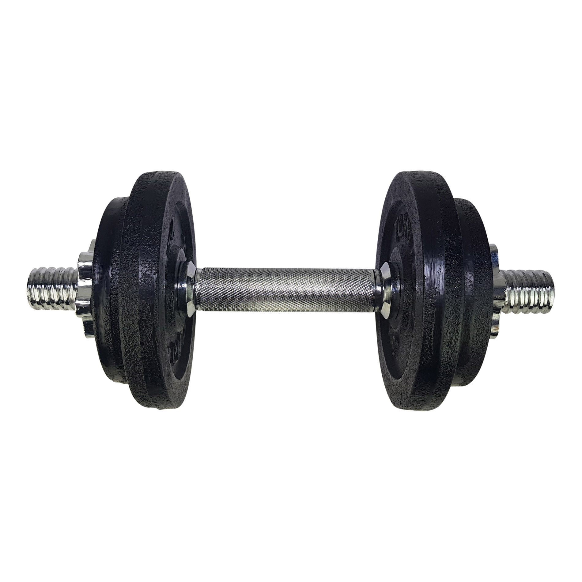 Dumbbellset, with 1 bar screw