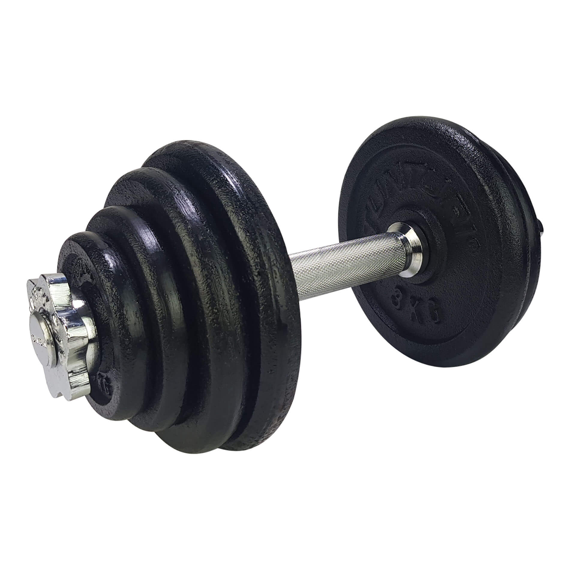 Dumbbellset, with 1 bar screw