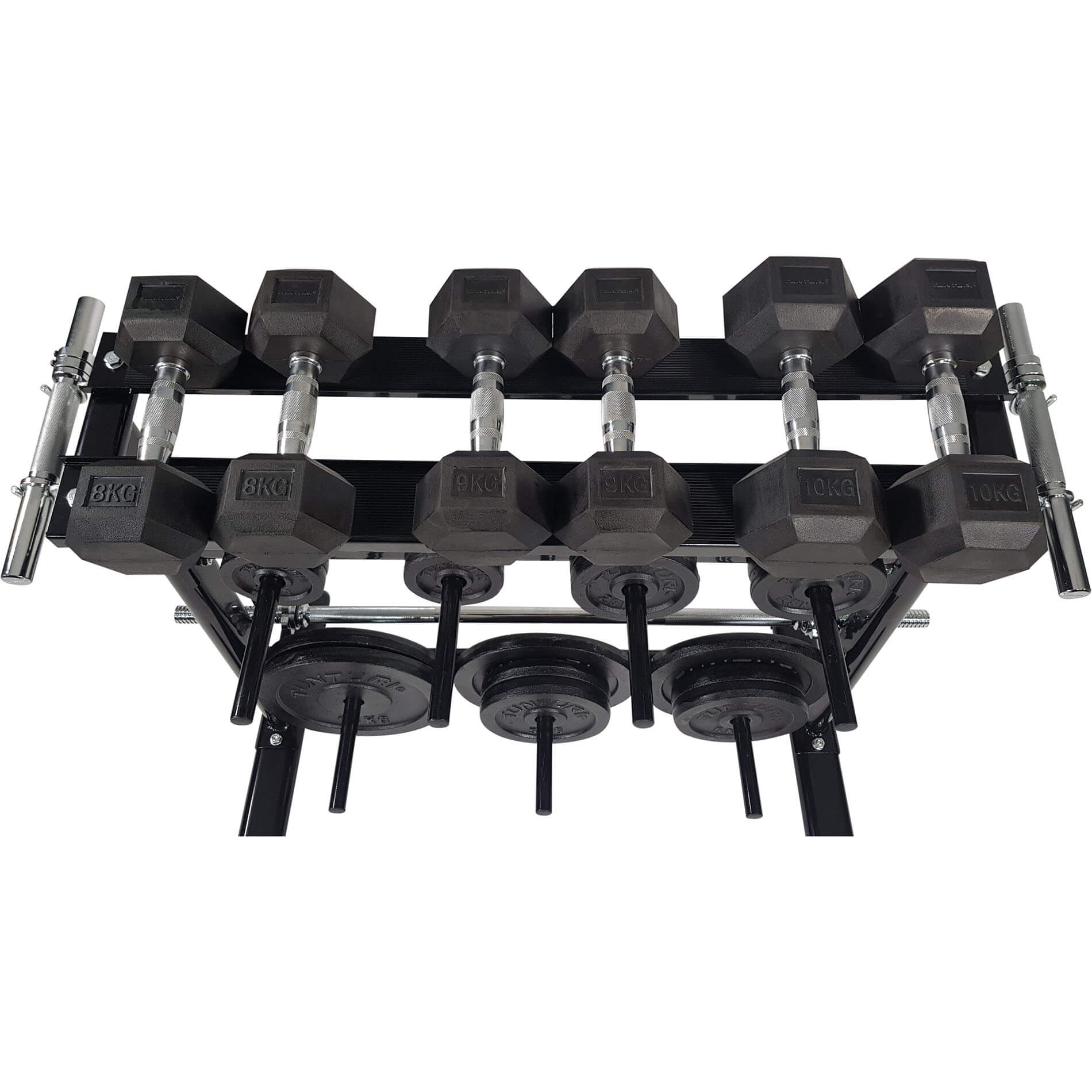 Disc & Dumbbell Rack
