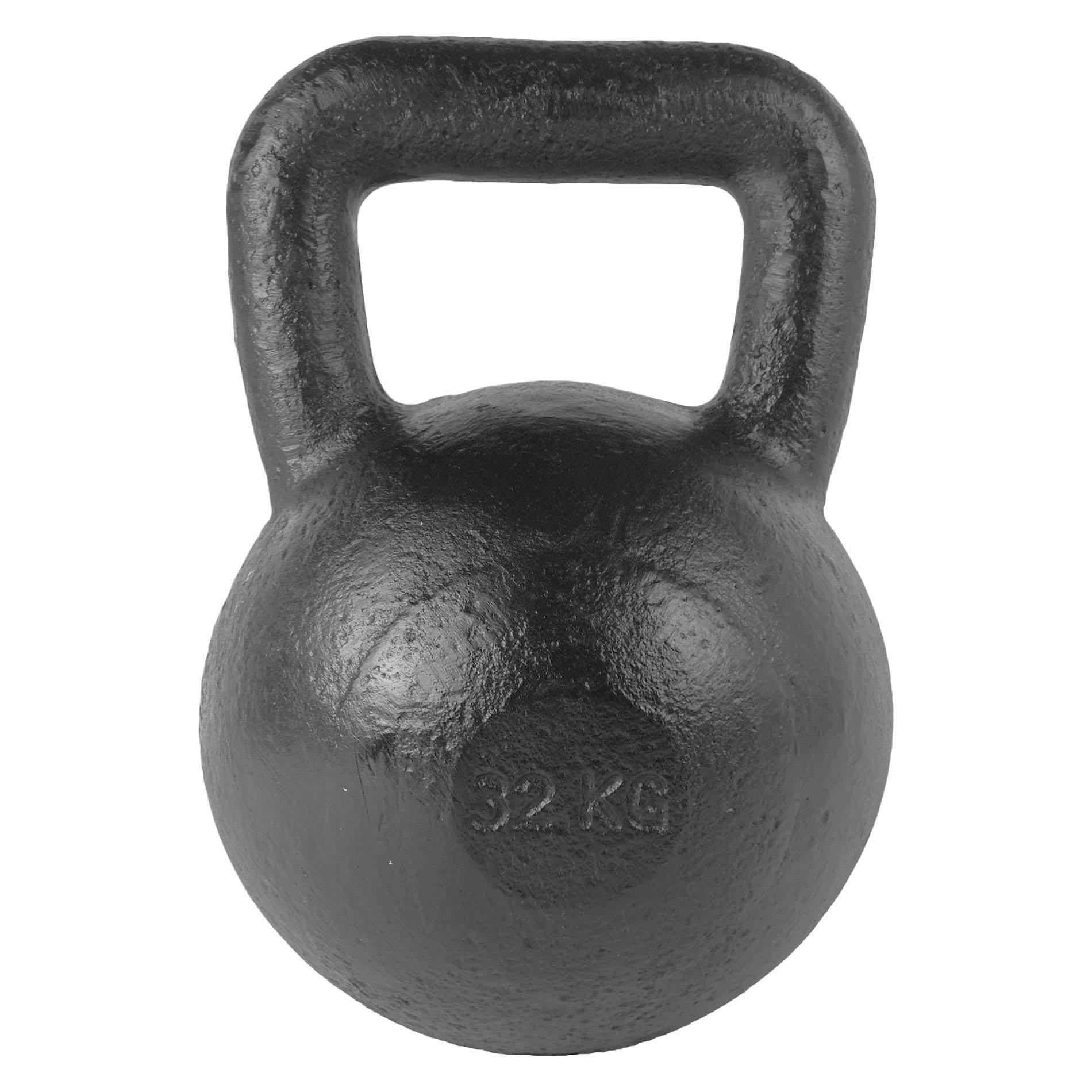 Kettlebell - Zwart 32 kg