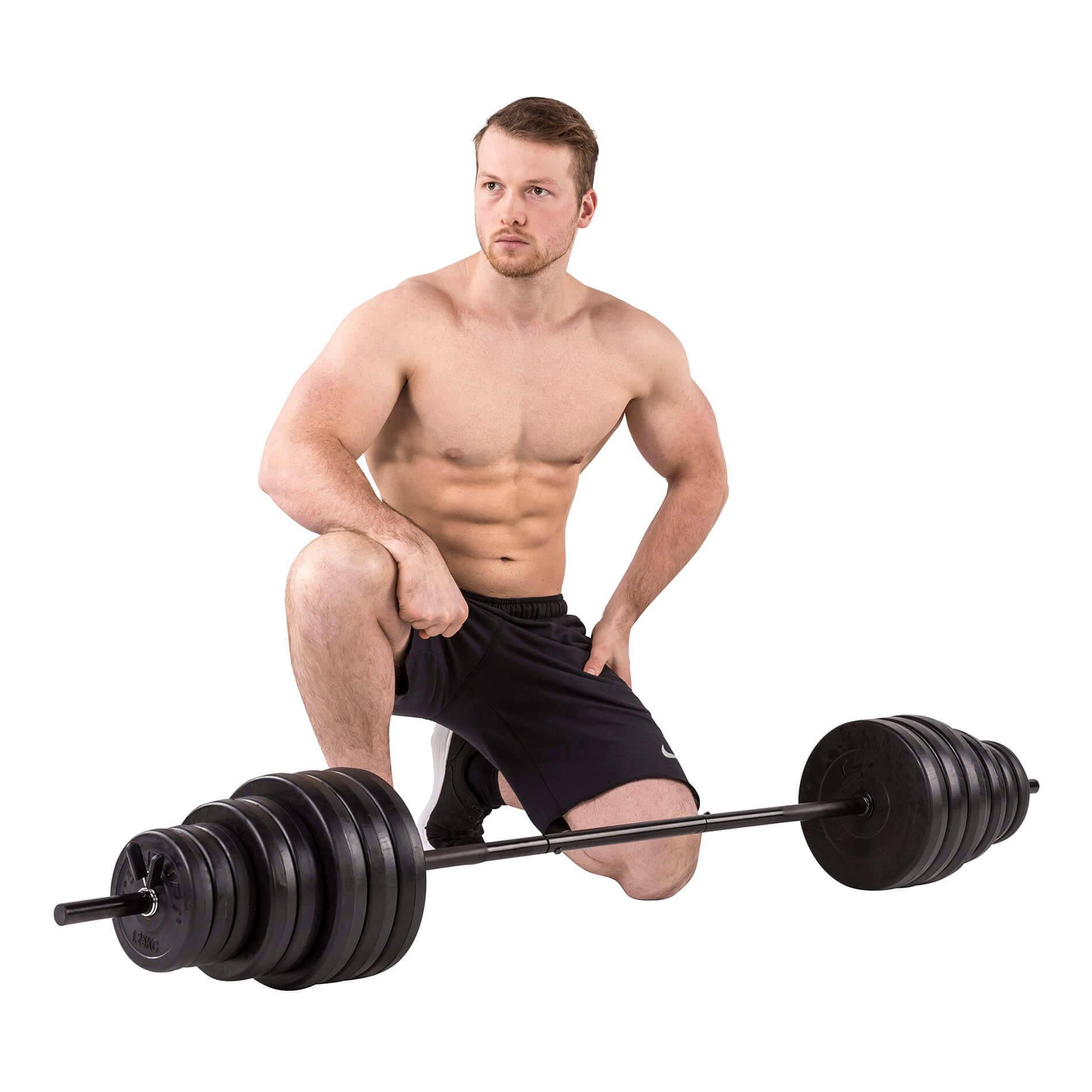 Vinyl Barbell/Dumbbell Set 50Kg