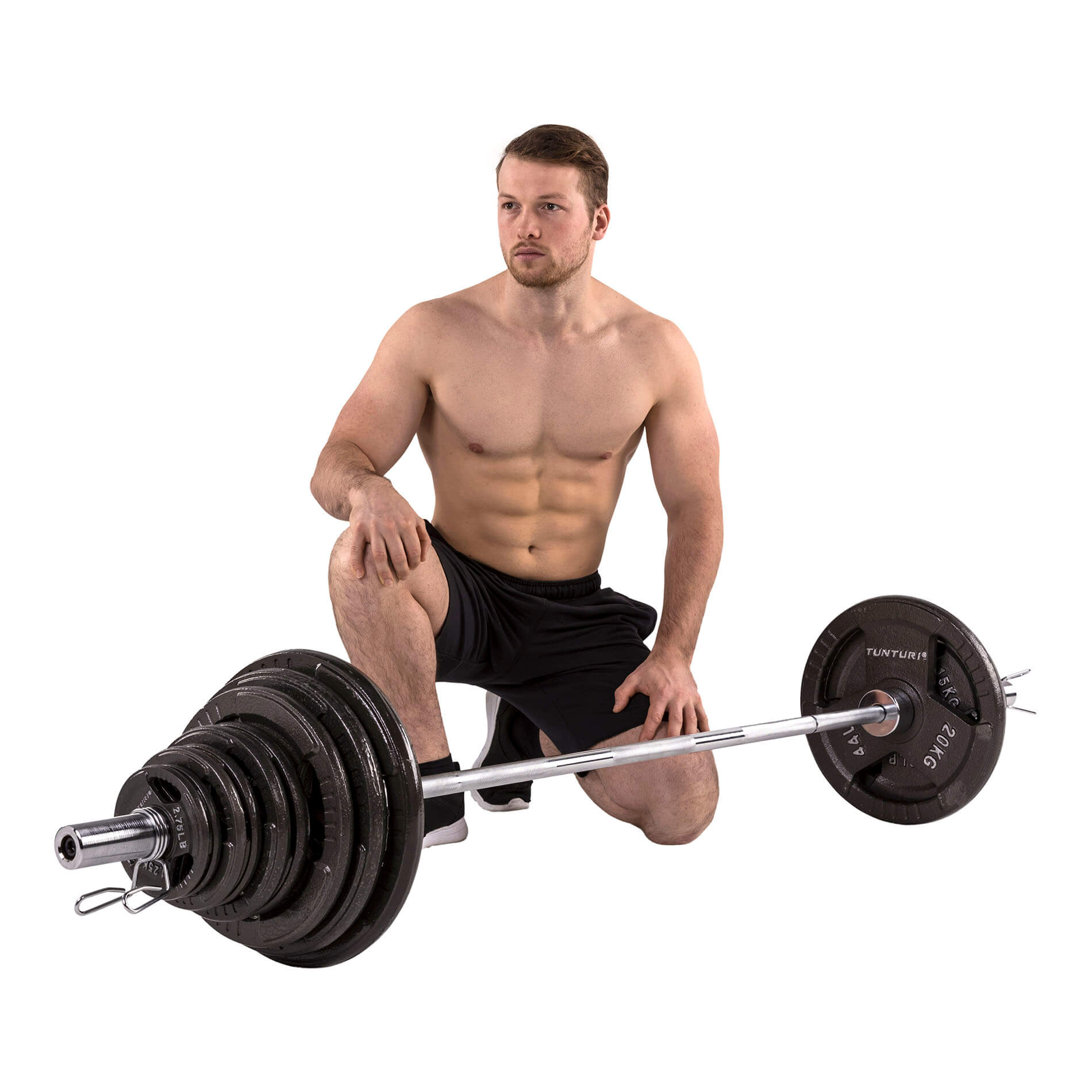 Olympic Tri-Grip Barbell Set