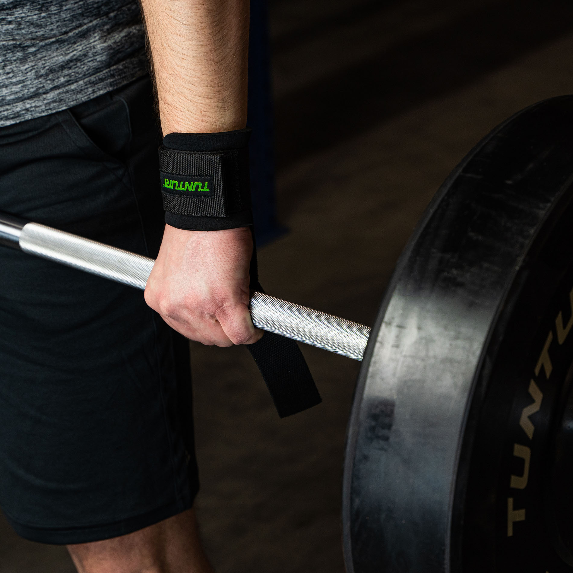 Pro Padded Power Lifting Straps