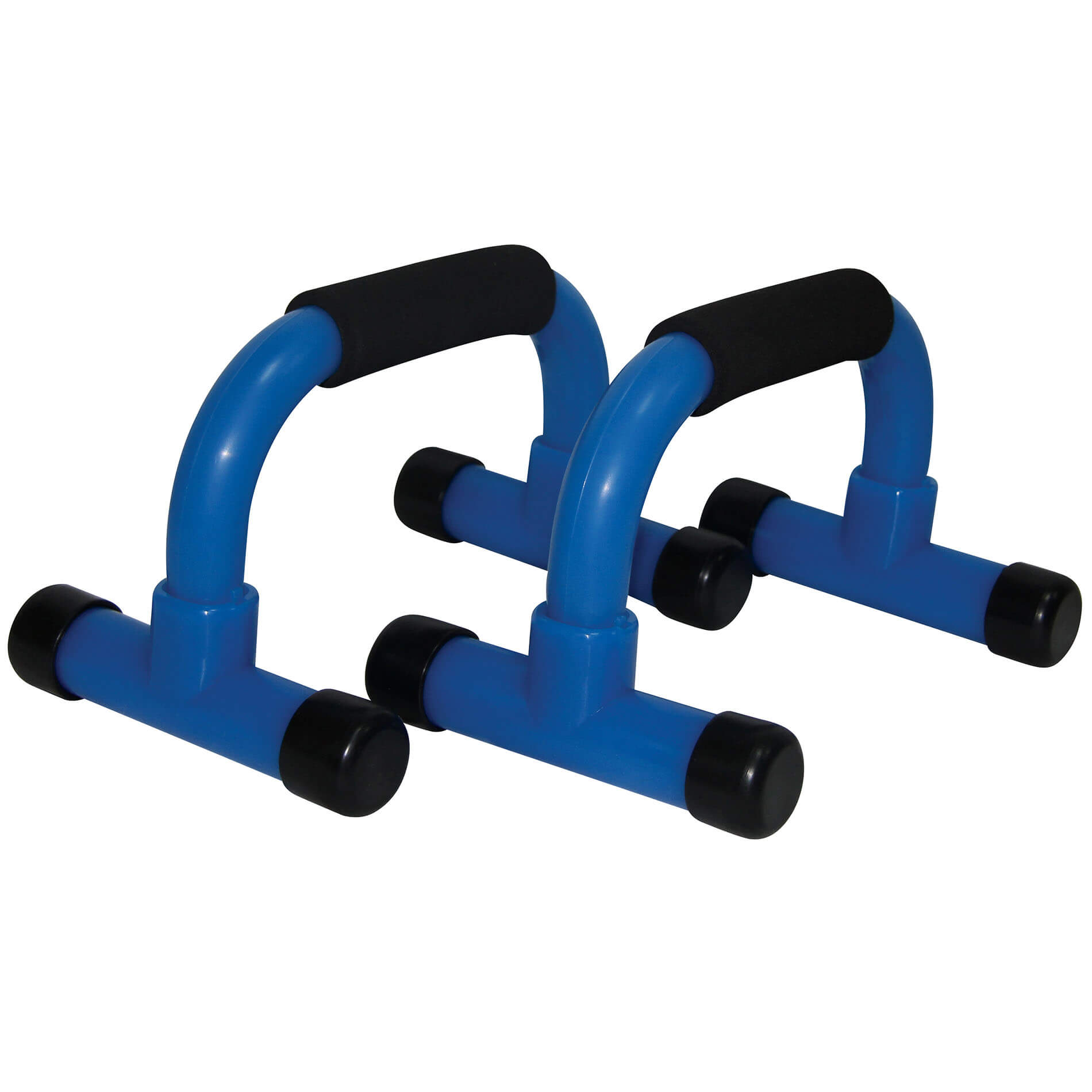 Push Up Bar PVC, Black/Green