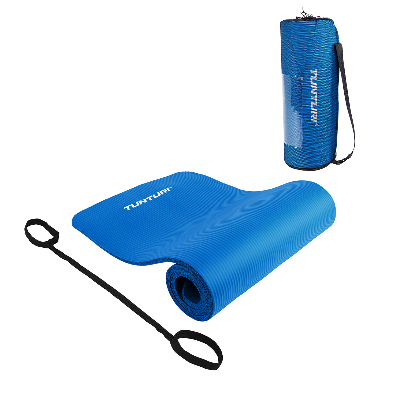 Fitnessmat - 180 cm x 60 cm x 1,5 cm - met draagkoord