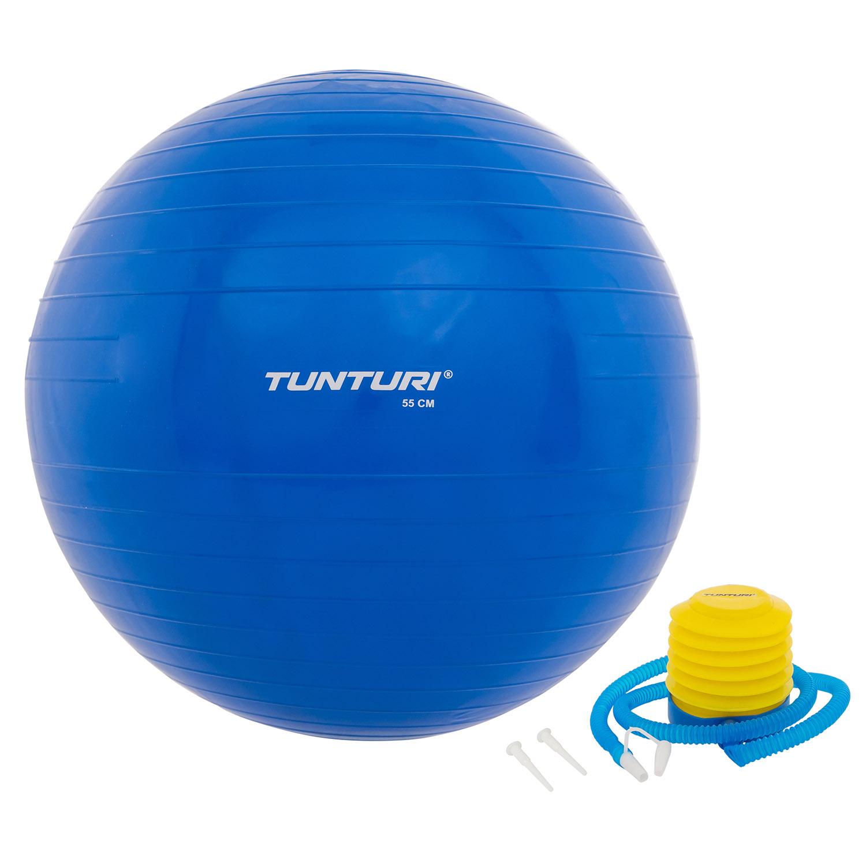 Fitnessbal - Inclusief pomp - Blauw