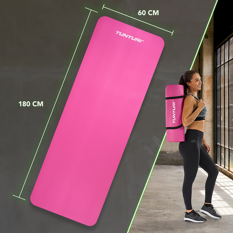 Fitnessmat NBR - Pink