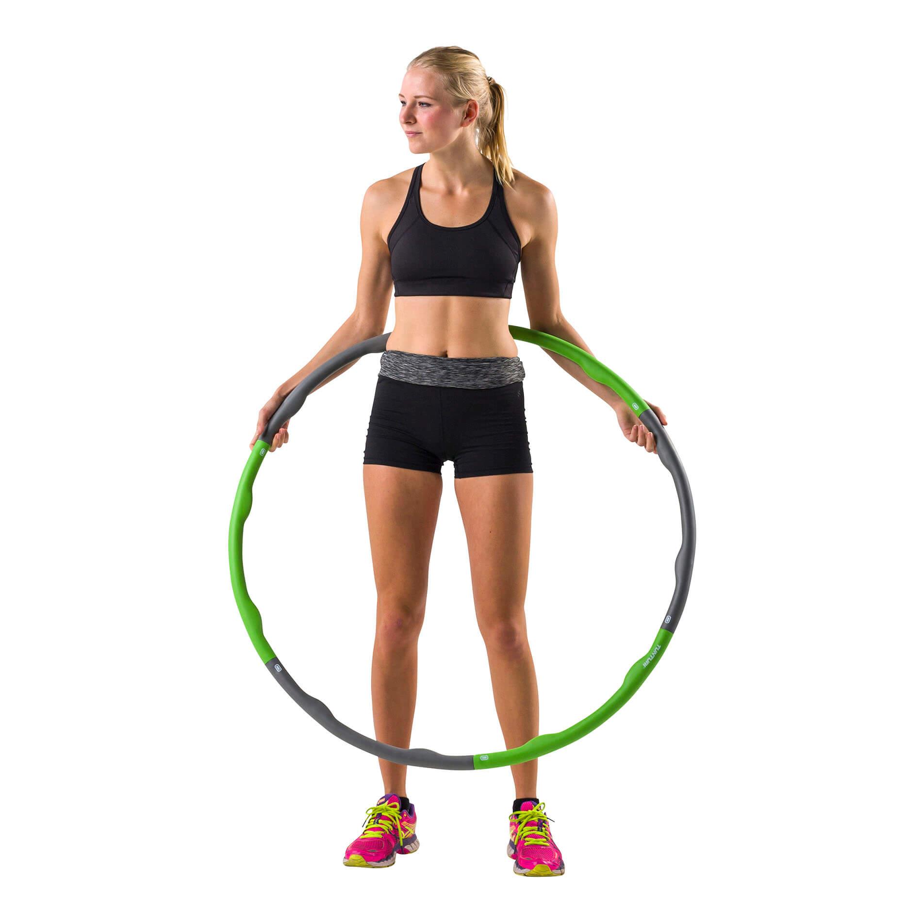 Fitness Hoelahoep - Groen/Grijs