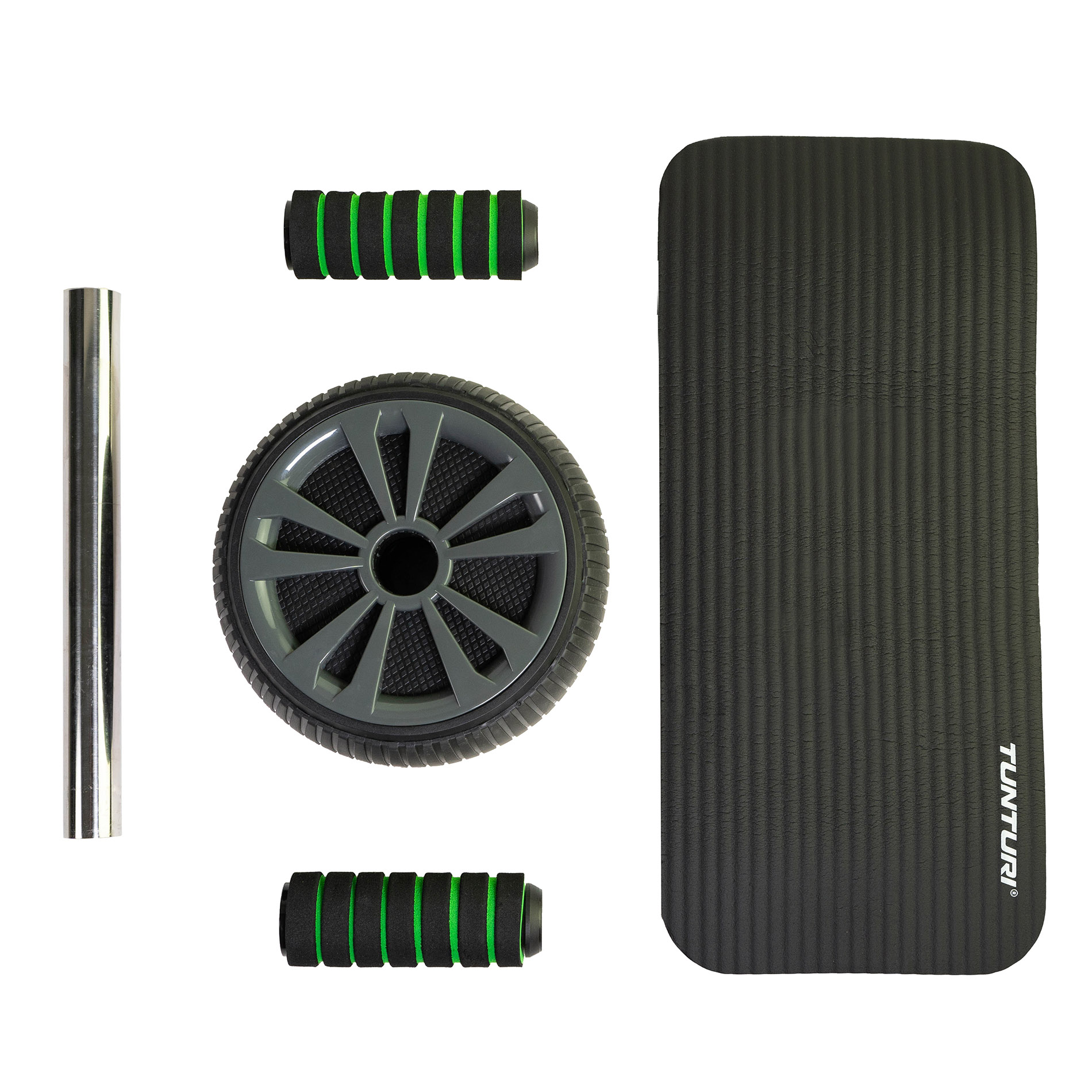 Tunturi Pro Exercise Wheel Deluxe With NBR mat