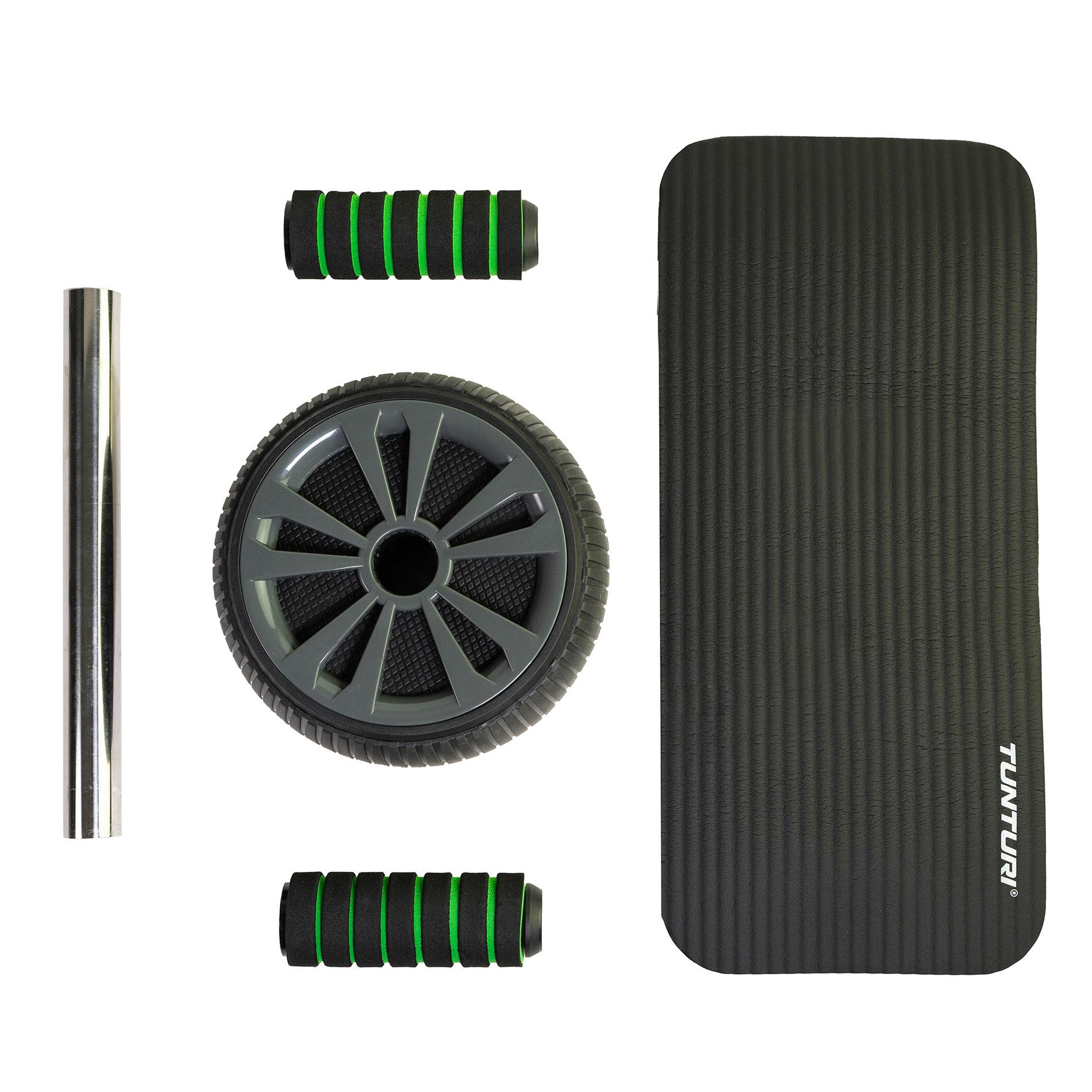 Tunturi Pro Exercise Wheel Deluxe met NBR mat