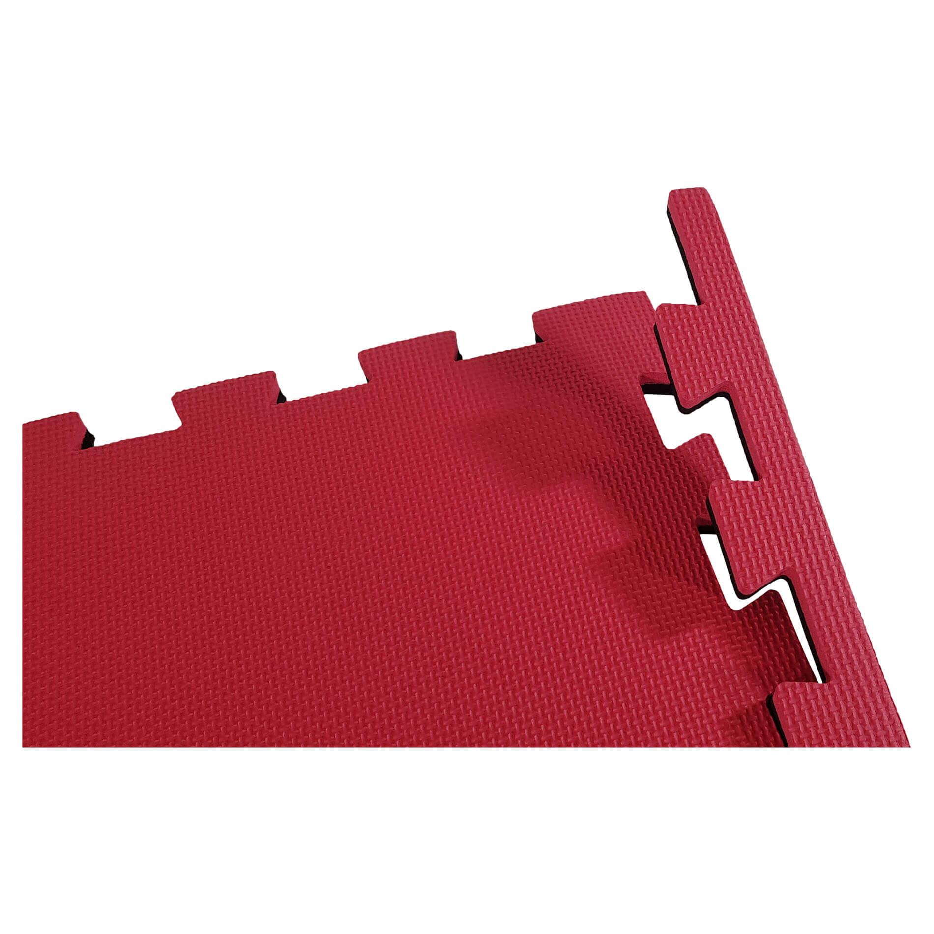 Puzzle Mat - Red/Black