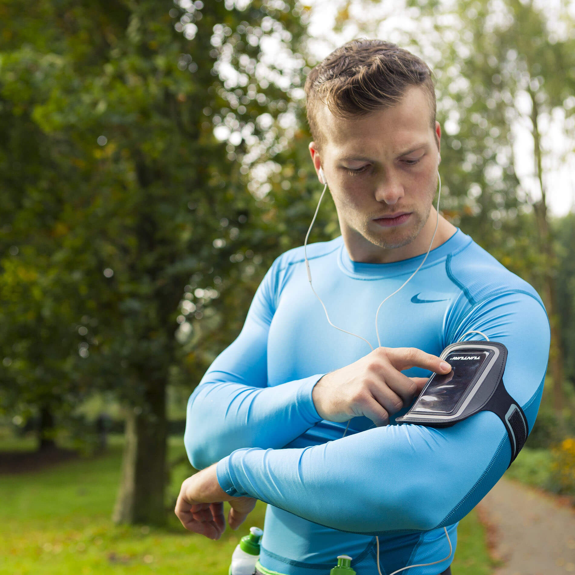 Smartphone Sport Armband Black
