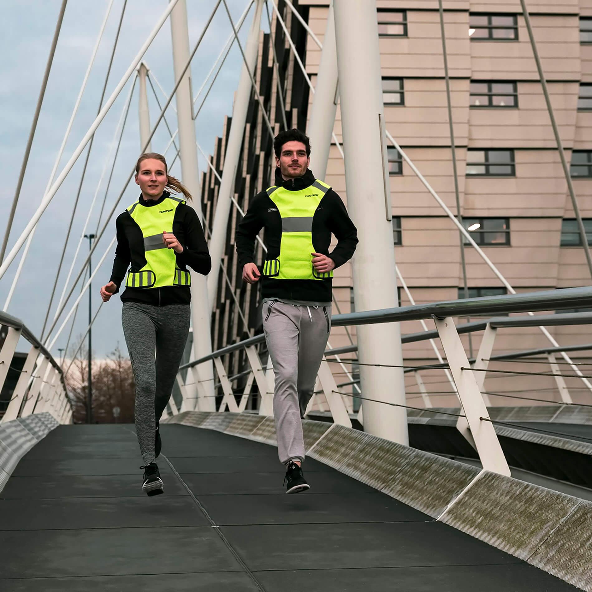 Running Vest - X-vorm hardloopvest - Reflecterend