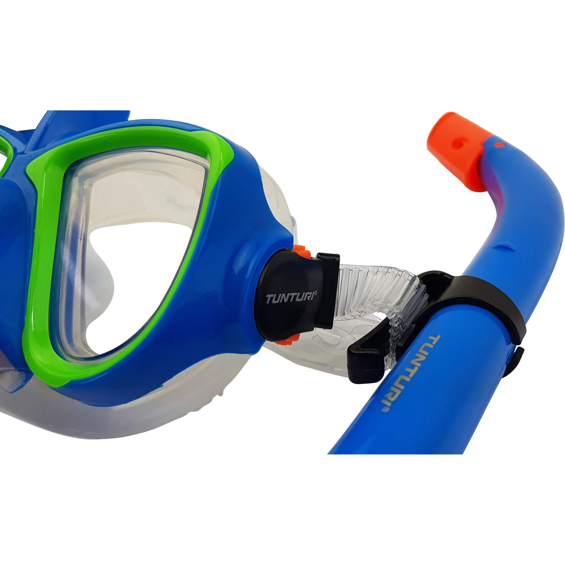 "Snorkel Set (JR) ""Shark"" Blue"