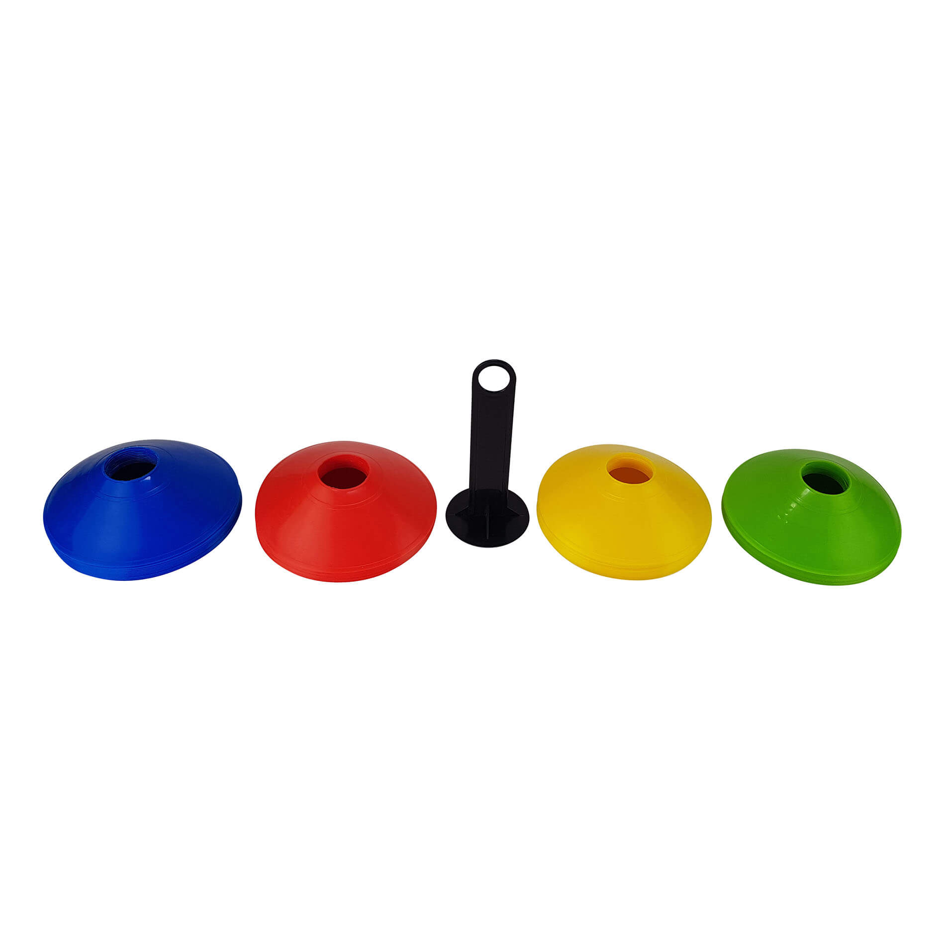 Agility Cone Set, 40pcs, With Rack