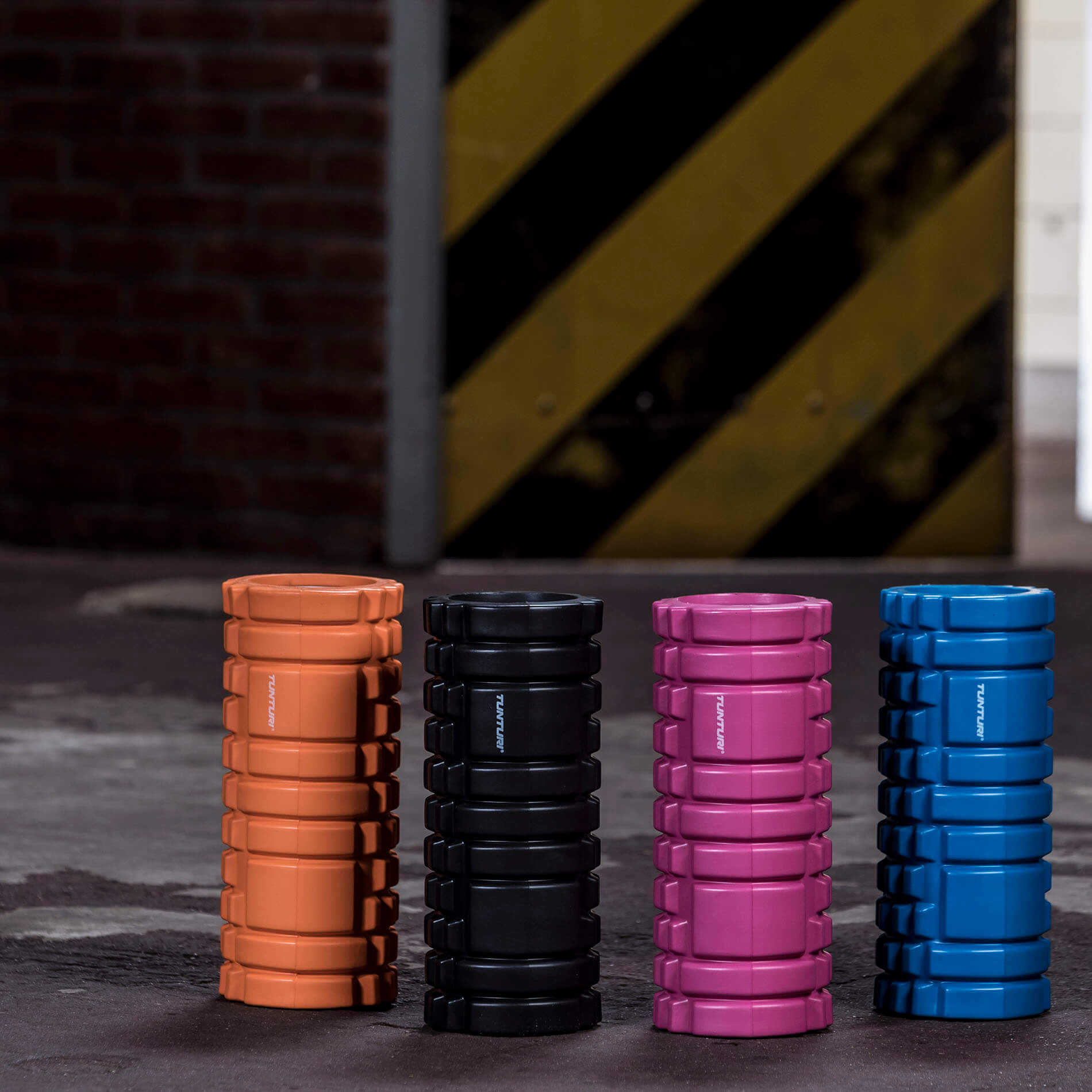 Yoga Grid Foam Roller -33cm - Orange