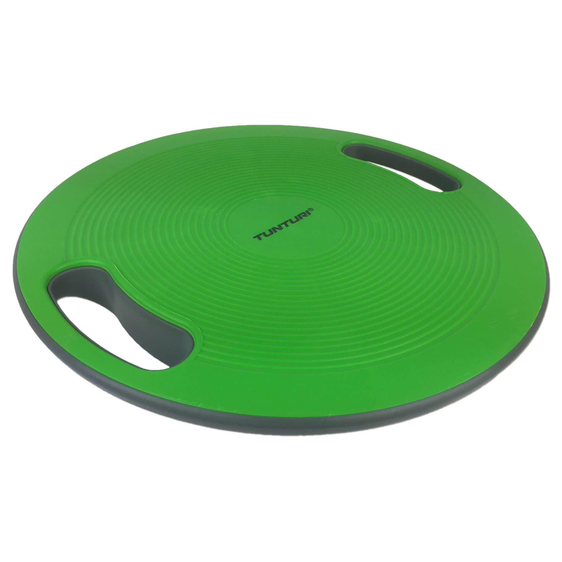 Balans Bord - Balance board -  Met Handgrepen - Groen/Zwart