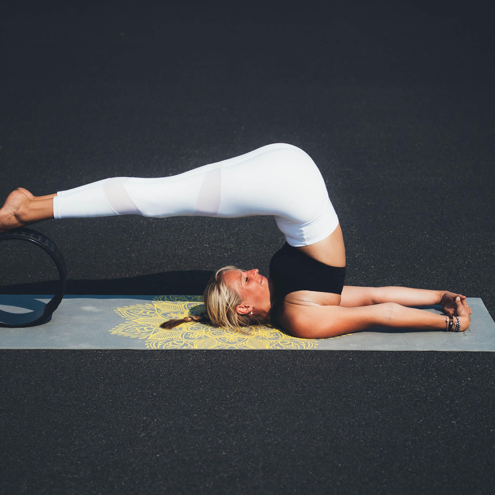 Yoga Wheel, EVA, Full black