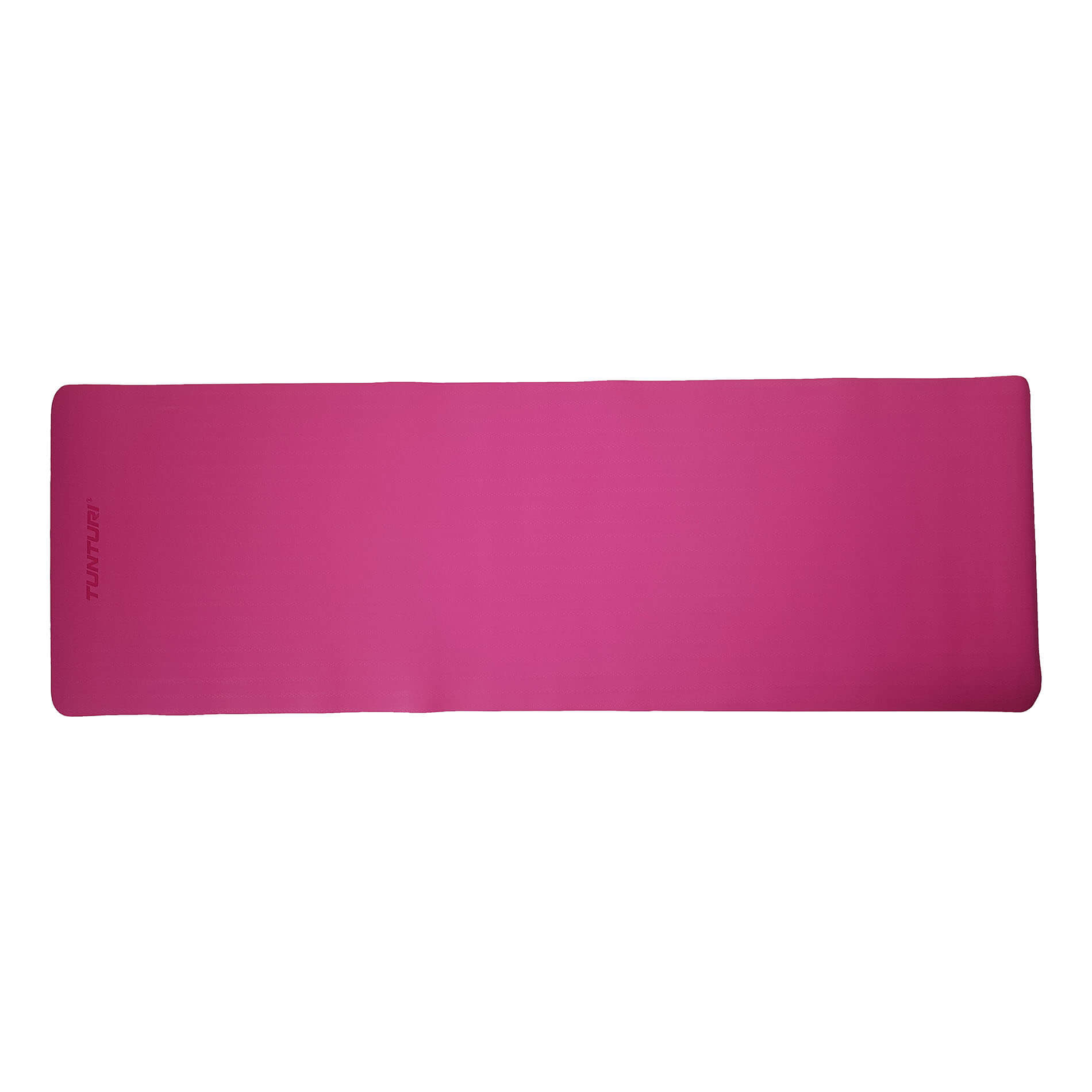 TPE Yogamat 4mm - Black/Pink