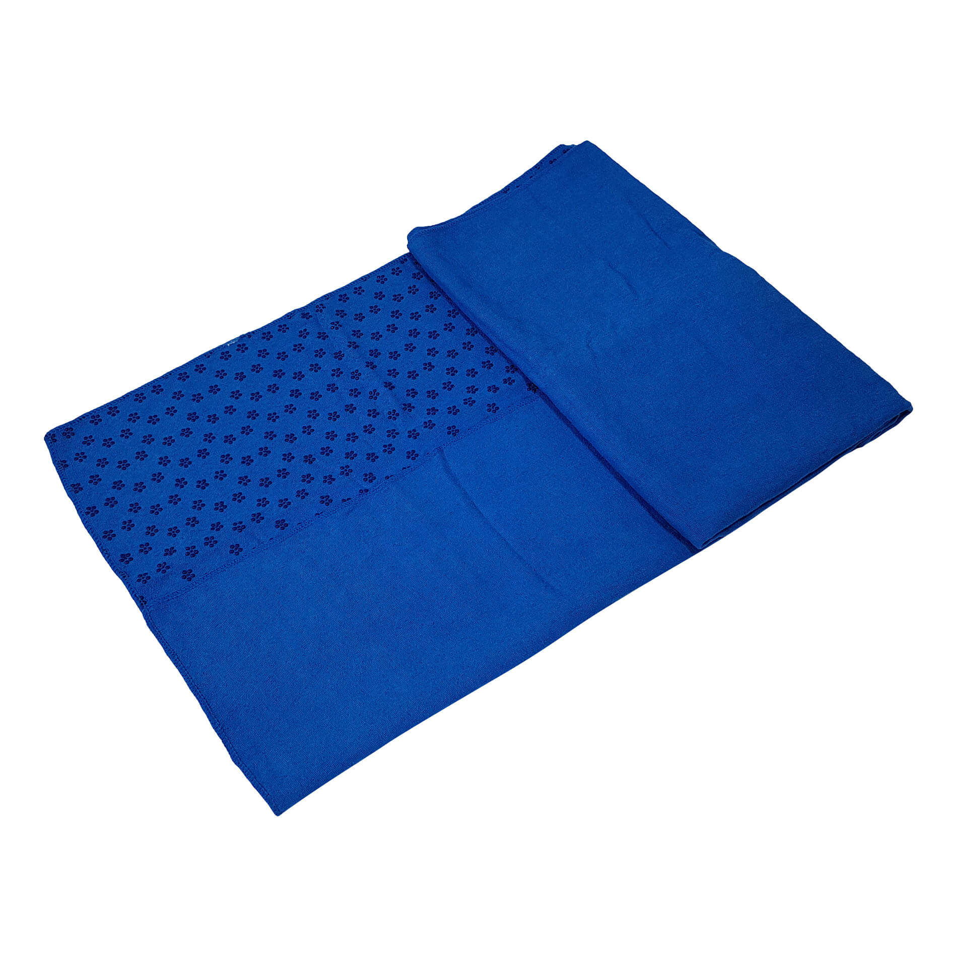Yoga Towel 180-63 cm With Carry Bag - Blue