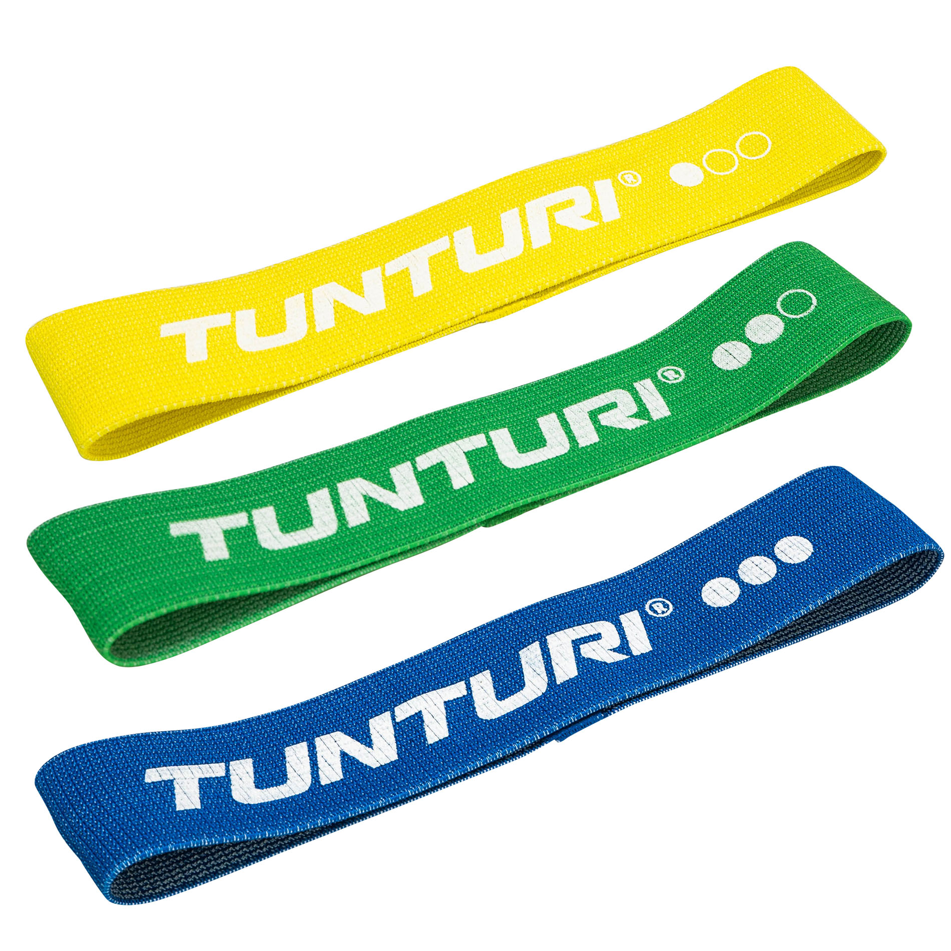 Weerstandsband textiel Set - resistance band
